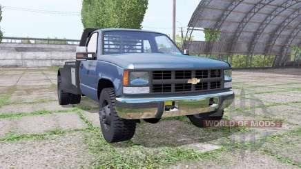 Chevrolet K3500 1994 flatbed für Farming Simulator 2017