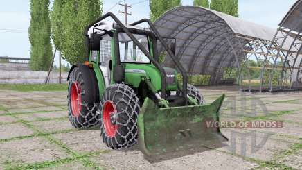 Fendt 209 S forest edition pour Farming Simulator 2017