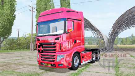 Scania R700 Evo tielbeke pour Farming Simulator 2017