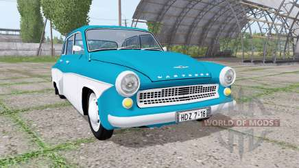 Wartburg 311-1 Deluxe limousine 1956 für Farming Simulator 2017