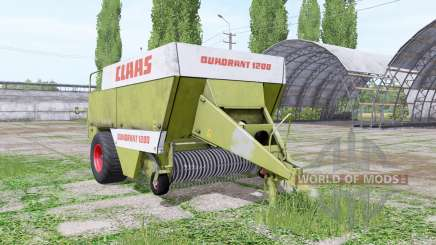 CLAAS Quadrant 1200 für Farming Simulator 2017