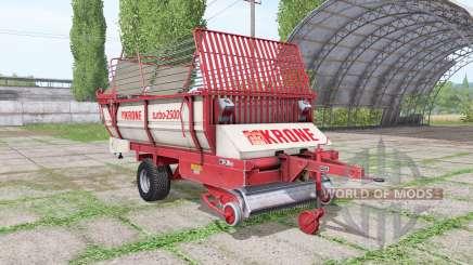 Krone Turbo 2500 v1.4 pour Farming Simulator 2017