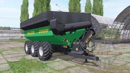 Balzer 2000 Tridem pour Farming Simulator 2017