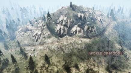 Parmi les montagnes pour MudRunner