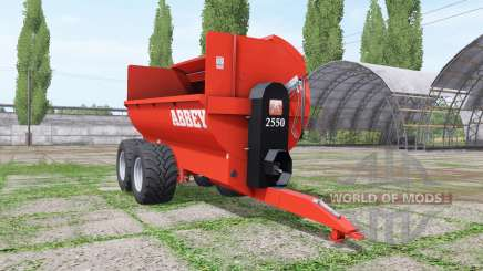 Abbey 2550 pour Farming Simulator 2017