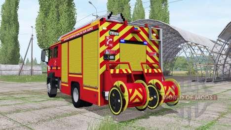 MAN TGM 18.250 Pompier pour Farming Simulator 2017