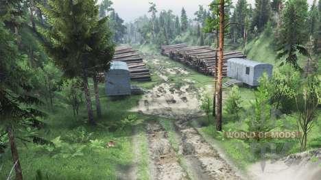 Voyage à la rivière Olenka pour Spin Tires