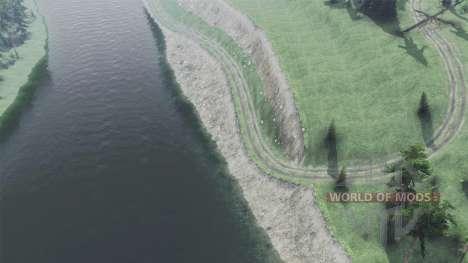 Crystal River 2 Marais pour Spin Tires