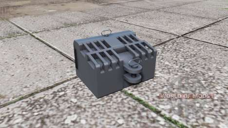 Steyr front weight pour Farming Simulator 2017