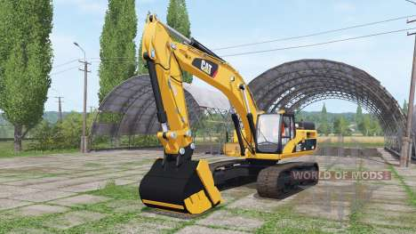 Caterpillar 345D L für Farming Simulator 2017