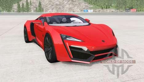 W Motors Lykan HyperSport 2014 pour BeamNG Drive