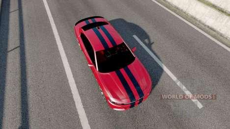 Dodge Charger RT (LD) 2016 für Euro Truck Simulator 2