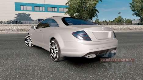Mercedes-Benz CL 65 AMG (C216) 2007 pour Euro Truck Simulator 2