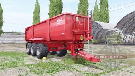 Krampe Big Body 900 pour Farming Simulator 2017