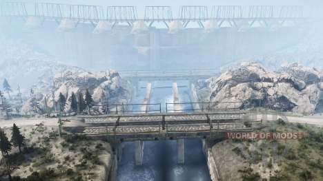 Lancang Dam für Spintires MudRunner
