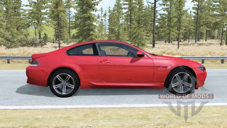 BMW M6 Coupe (E63) 2010 für BeamNG Drive