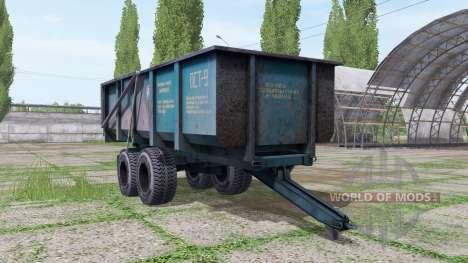 PST 9 pour Farming Simulator 2017