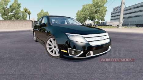 Ford Fusion Sport (CD338) 2009 pour American Truck Simulator