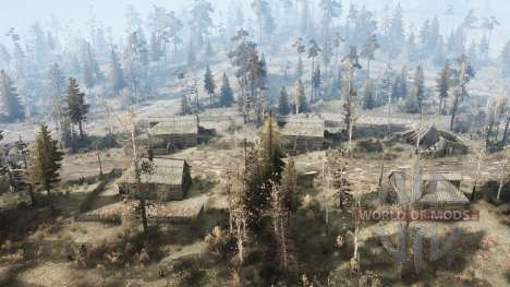Grundstück in einem Tal für Spintires MudRunner