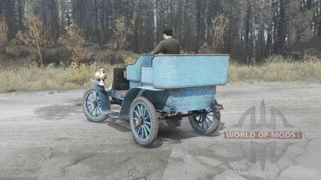 Renault Type G 1902 für Spintires MudRunner
