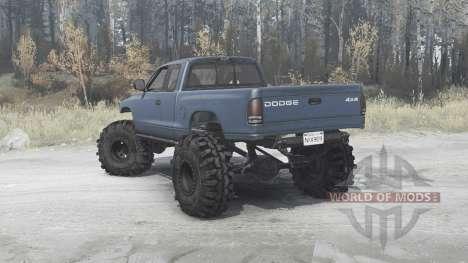 Dodge Dakota Club Cab 1997 für Spintires MudRunner