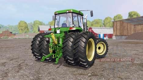 John Deere 7810 v1.2 pour Farming Simulator 2015