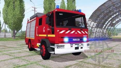 Iveco EuroCargo 1991 Pompier für Farming Simulator 2017