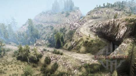 La Luna 5 - The valley pour Spintires MudRunner