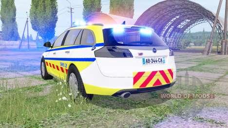 Opel Insignia Sports Tourer 2008 SAMU pour Farming Simulator 2017