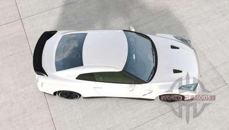 Nissan GT-R Egoist (R35) 2011 pour BeamNG Drive