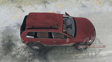 Volkswagen Touareg R50 (Typ 7L) 2007 pour Spintires MudRunner