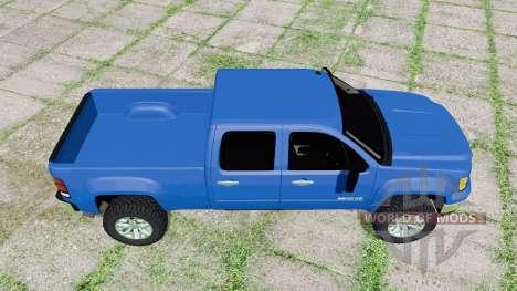 GMC Sierra 2500 HD Crew Cab 2010 pour Farming Simulator 2017
