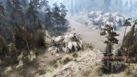 Couvercle arrière 2 pour Spintires MudRunner