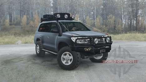 Toyota Land Cruiser 200 (UZJ200) 2008 für Spintires MudRunner