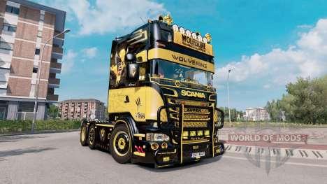 Scania R520 Wolverine pour Euro Truck Simulator 2