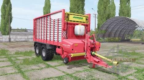 POTTINGER JUMBO 6010 combiline pour Farming Simulator 2017