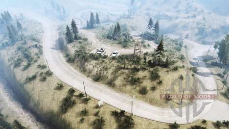 La Luna 4 - At the top pour Spintires MudRunner