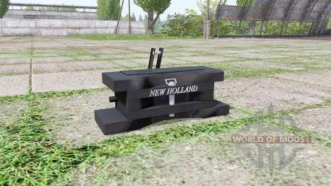 New Holland front weight für Farming Simulator 2017