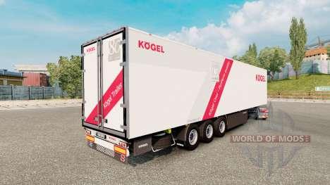 Trailer Kogel Cool pour Euro Truck Simulator 2
