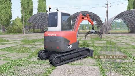 Kubota KX71-3 für Farming Simulator 2017