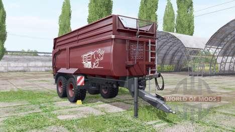 Krampe Big Body 790 pour Farming Simulator 2017