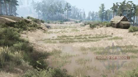 Tropical off-road pour Spintires MudRunner
