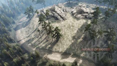 Murmure de la forêt pour Spintires MudRunner