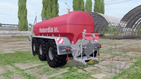 Rekordia Tridem MXXL PW pour Farming Simulator 2017