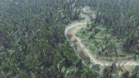 Reise zum Fluss Olenka für Spin Tires
