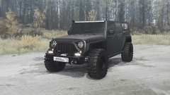 Jeep Wrangler Unlimited Rubicon (JK) off-road pour MudRunner