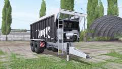 Fliegl ASW 271 Black Panther v1.3.1 pour Farming Simulator 2017