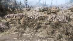 Grundstück in einem Tal für MudRunner