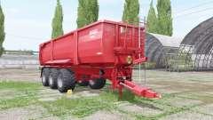 Krampe Big Body 900 edit Xelma für Farming Simulator 2017