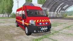 Renault Master 2003 Pompier für Farming Simulator 2017